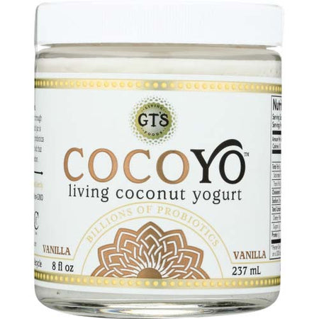 Cocoyo - Yogurt Coconut Based Vanilla - 8 OZ