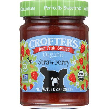 Crofters - Jelly Strawberry - 10 OZ