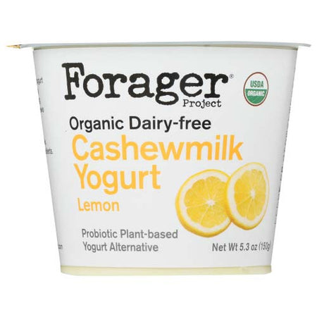 Forager- Yogurt Cashew Milk Lemon - 5.3 OZ