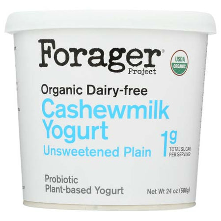 Forager - Yogurt Cashew Milk Plain - 24 OZ