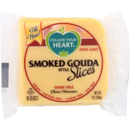 Follow Your Heart - Vegan Cheese Smoked Gouda Slices - 7 OZ