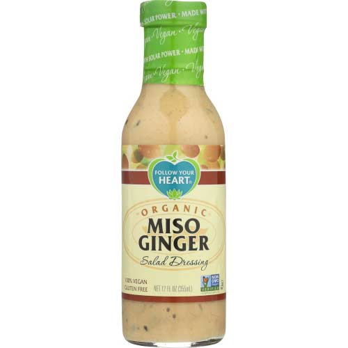 Follow Your Heart - Dressing Miso Ginger - 12 OZ