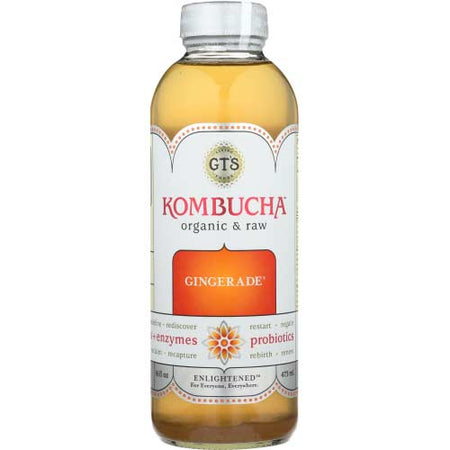 Gt - Kombucha Gingerade  - 16oz