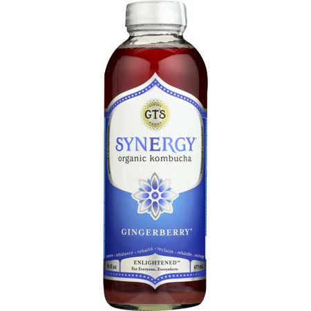 Gt - Kombucha Gingerberry - 16oz