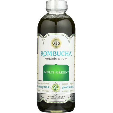 Gt - Kombucha Multi-Green - 16oz