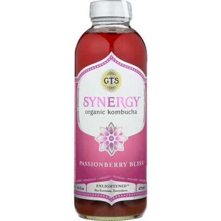 Gt - Kombucha Passionberry Bliss - 16oz