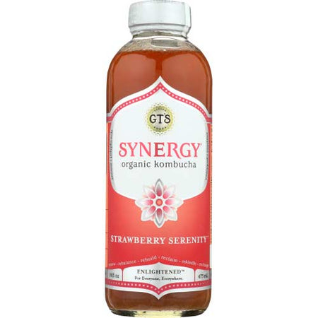 Gt - Kombucha Strawberry Serenity - 16oz