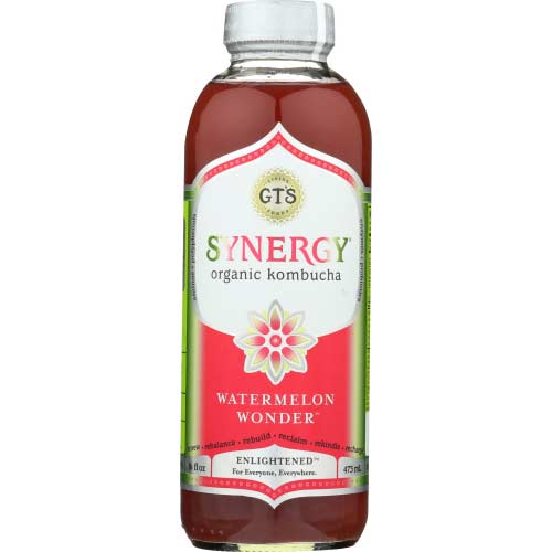 Gt - Kombucha Watermelon Wonder - 16oz