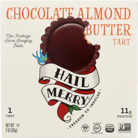Hail Merry - Tart Chocolate Almond Butter - 3 OZ