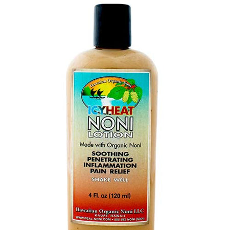 Hawaii Organic Noni - IcyHeat Noni Lotion 4 oz