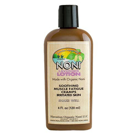 Hawaii Organic Noni - Noni Lavender Lotion 4 oz