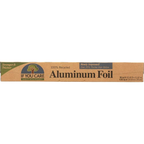 If You Care - Foil Alum 100% Recycled 50Sf - 1 EA