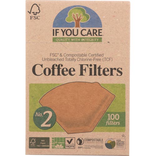 If You Care - Coffee Filter No2 - 100 PC