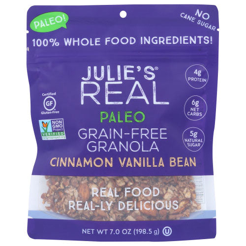 Julies Real - Granola Cinnamon Vanilla Bean - 7 OZ
