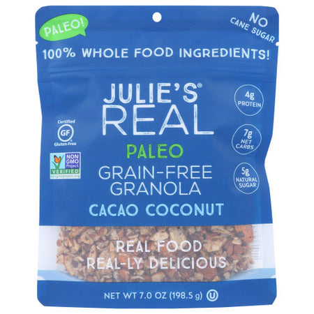 Julies Real - Granola Cacao Coconut - 7 OZ