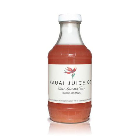 Kauai Juice Co - Kombucha Blood Orange - 16oz