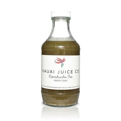 Kauai Juice Co - Kombucha Green Tonic - 16oz