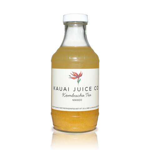 Kauai Juice Co - Kombucha Mango - 16oz