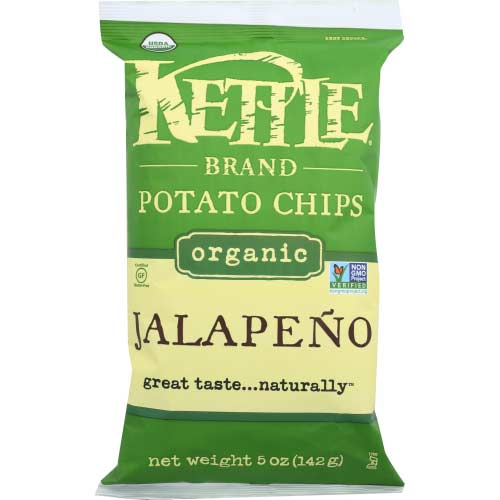 Kettle - Chip Potato Jalapeno - 5 OZ