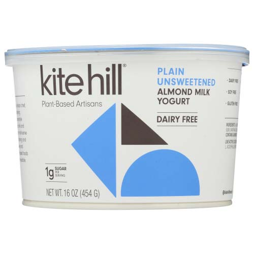 Kite Hill - Yogurt Almond Milk Unsweetened - 16 OZ