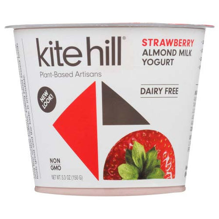 Kite Hill - Yogurt Almond Milk Strawberry - 5.3 OZ