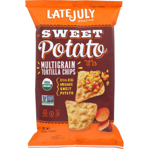 Late July - Chip Tortilla Sweet Potato - 5.5 OZ
