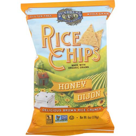 Lundberg - Chip Rice Honey Dijon   - 6 OZ