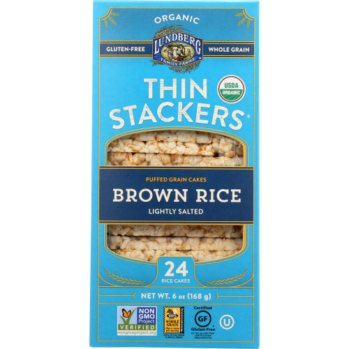Lundberg - Cracker Brown Rice - 5.9 OZ