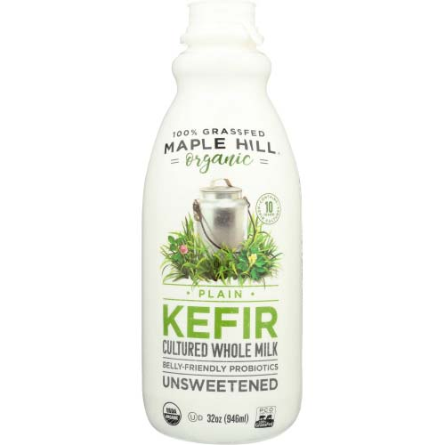 Maple Hill Creamery - Kefir Grassfed Plain - 32 OZ