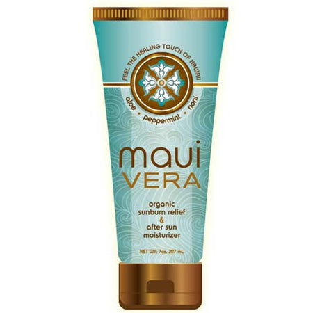 Maui Vera - Organic Sunburn Relief & After Sun Moisturizer - 6.5 oz