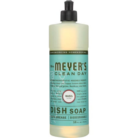 Mrs Meyers - Soap Dish Liquid Basil - 16 OZ