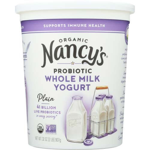 Nancys - Yogurt Whole Milk Plain - 32 OZ