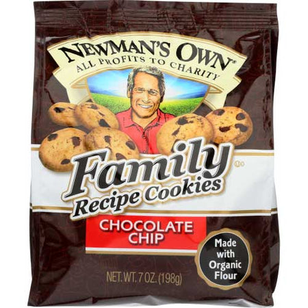 Newmans - Cookie Chocolate Chip - 7 OZ