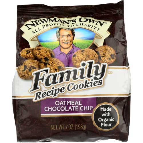 Newmans - Cookie Oatmeal Chocolate Chip - 7 OZ