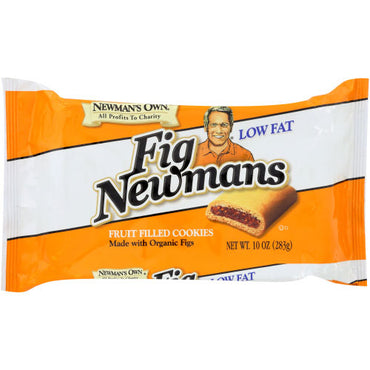 Newmans - Cookie Fig Bar - 10 OZ