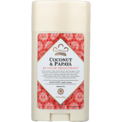 Nubian - Deodorant Coconut Papaya - 2.25 OZ