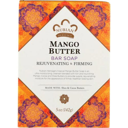 Nubian - Soap Bar Mango Butter - 5 OZ