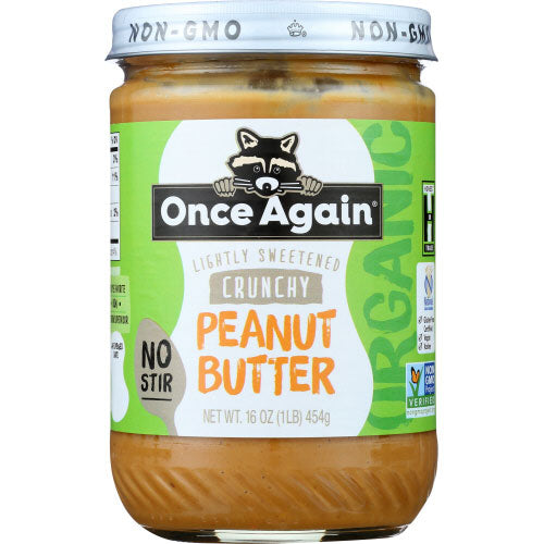Once Again - Butter Peanut Crunchy - 16 OZ