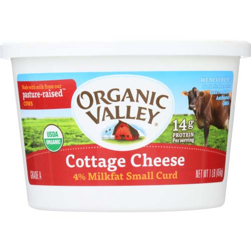 Organic Valley - Cottage Cheese - 16OZ