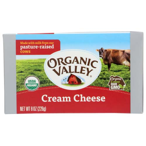 Organic Valley - Cream Cheese - 8OZ