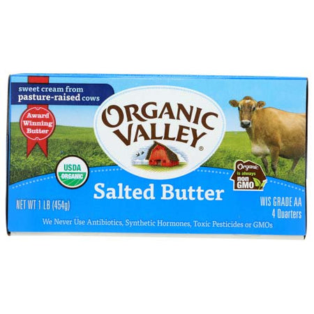 Organic Valley - Butter Light Salt - 16 OZ