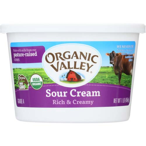Organic Valley - 4% Sour Cream - 16OZ