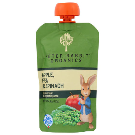 Peter Rabbit - Baby Food Pea Spinach Apple - 4.4 OZ