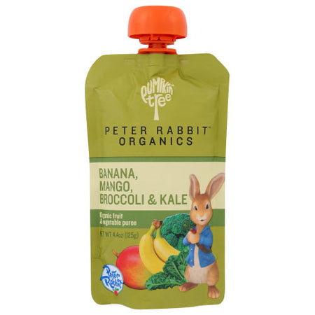 Peter Rabbit - Baby Food Kale Broccoli Mango - 4.4 OZ