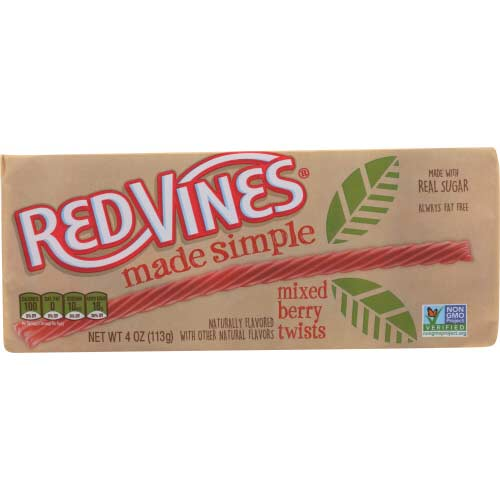 Red Vines - Licorice Mixed Berry - 4oz