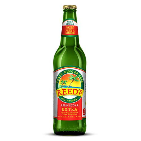 Reeds - Soda Ginger Beer Zero Sugar - 12oz