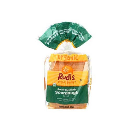 Rudi - Frozen Bread Sourdough Sliced Org - 22 OZ