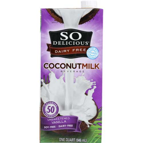 So Delicious - Milk Coconut Unsweetened Vanilla - 32 OZ