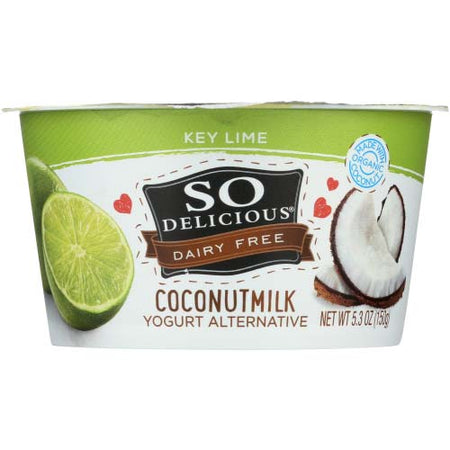 So Delicious - Yogurt Coconut Milk Key Lime - 5.3 OZ