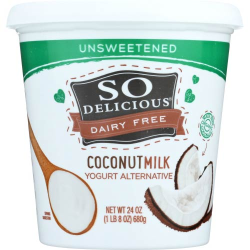 So Delicious - Coconut Yogurt Plain Unsweetened - 24 OZ